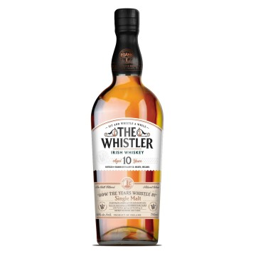 The Whistler 10 yr Single Malt Irish Whiskey