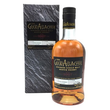 GLENALLACHIE SINGLE CASK 12 Years Old Madeira Hoghshead Cask 3772 Vintage 2007
